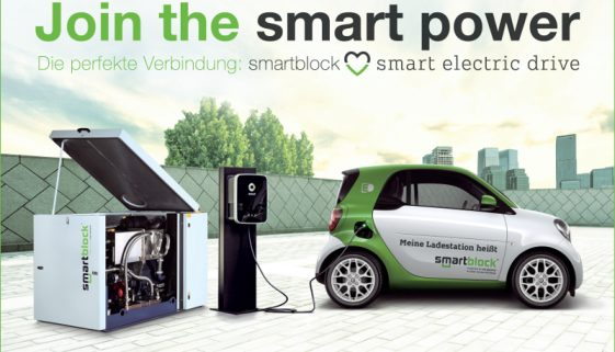 smartblock, Wallbox, smart electric drive