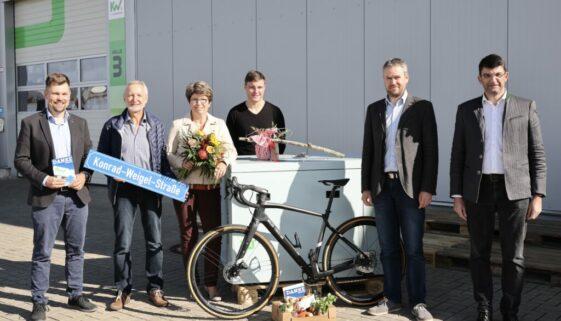 Konrad Weigel in den Ruhestand verabschiedet
