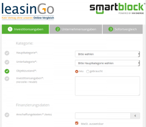 Neues Angebot – smartblock finance